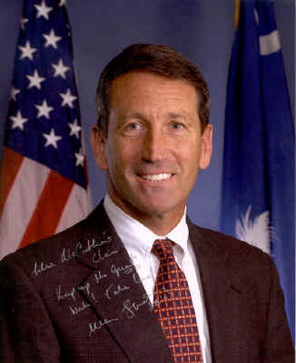 South Carolina Governor Mark Sanford
